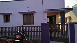 2BHK individual House (with compound wall) for sale!