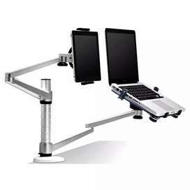 Bracket Laptop dan Tablet Holder Multifungsi - OA-9X - Silver