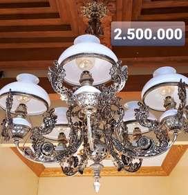Lampu Gantung Antik Klasik Hias Rumah Joglo Gebyok