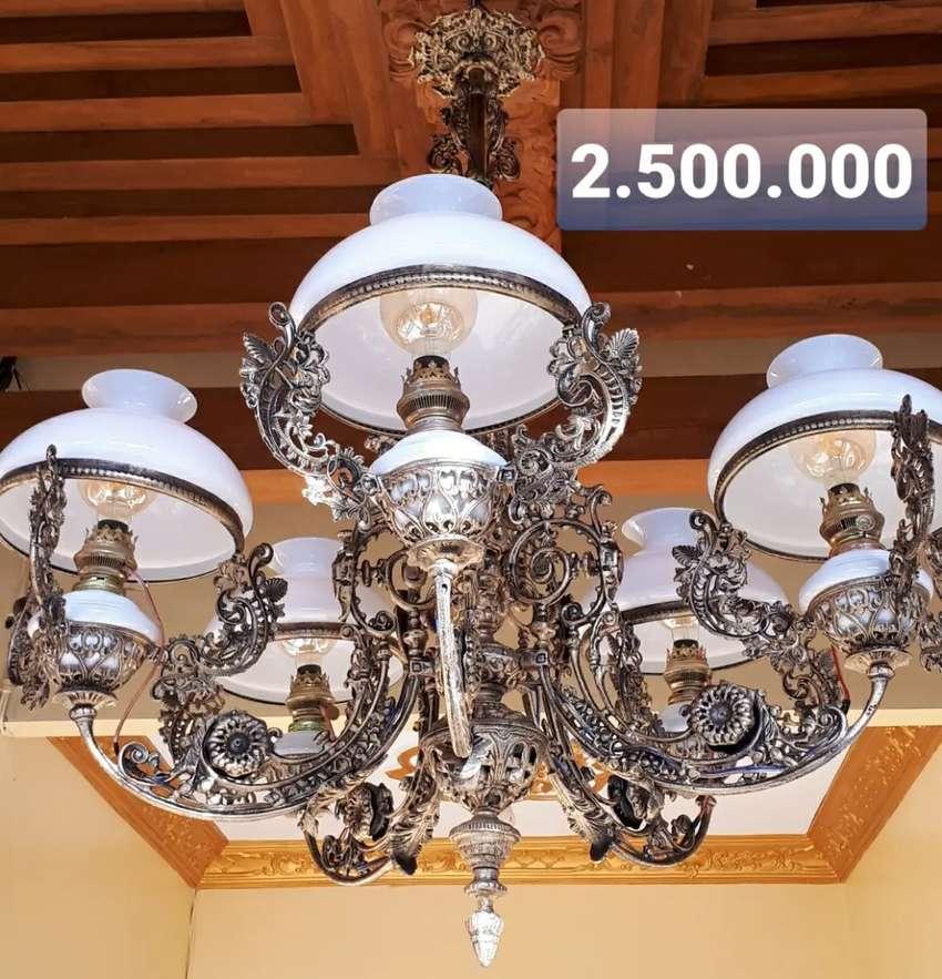 Lampu Gantung Antik Klasik Hias Rumah Joglo Gebyok 0