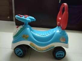 Kids doraemon blue car(slightly negotiable)