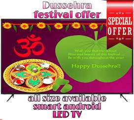 Bumper dhamka sale on smart Android led tv free cash on delivery