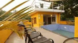 5 bhk furnished villa at baga