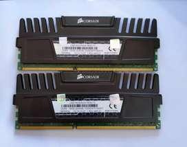 Ram Corsair Vegeance 2x8gb (16gb) DDR3 1600Mhz, Lifetime