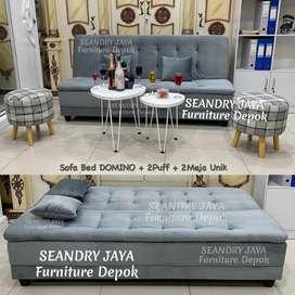 SEANDRY JAYA Furniture Depok/Sofabed/sofa bed kekinian/l scandinavian