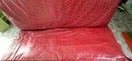 3 SEATER OLD IRON 4 LEG  SOFA