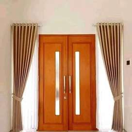 Korden Tirai Hordeng Gorden Curtain Blinds Gordyn Wallpaper Z.180jj7