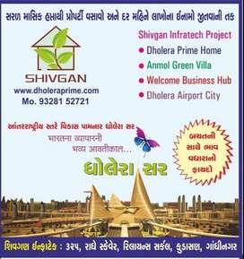Residential Plots in Dholera |  Rs 267 Per Sq Feet