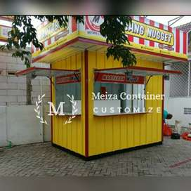 Booth Semi CONTAINER / JASA PEMBUATAN CONTAINER/ CONTAINER COFFE !5