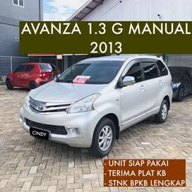 ALL NEW AVANZA 1.3 G MANUAL 2013