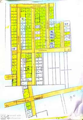 Nandhukotkur road with LP approval with all developments 100feet road