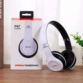 Wireless Bluetooth headphones Available Rechargeable 8 Hrs Battery