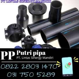 Fitting HDPE Rucika Black