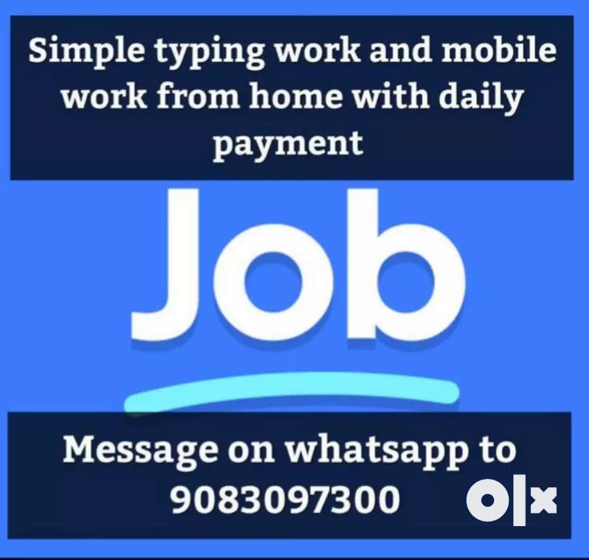 Simple typing work and mobile work 0