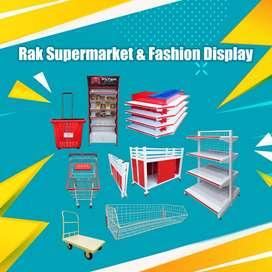 Promo Rak minimarket dan Rak Supermarket Murah dan terbaik