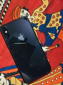 iphone x with chrgr earphone nd bill full warranty pdi h 11 months ki