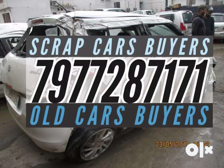Dead abandoned accidental scrap cars buyers 0