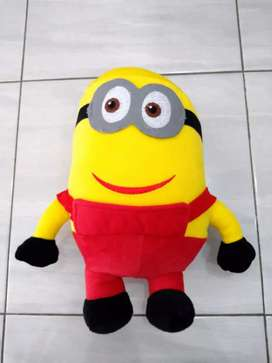 Boneka Minion Baju Merah