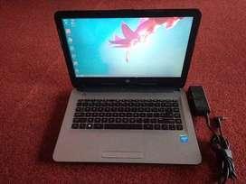 Laptop HP Intel N3050 Braswell Ram 4Gb HDD 500GB siap lembur