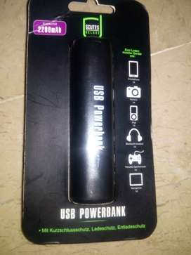 USB Power Bank 2200 mAh