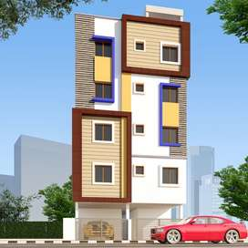 Newly built 6000 sft building with 21 rooms with attached bathrooms