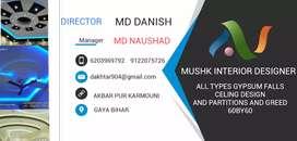 Mushk interior designer