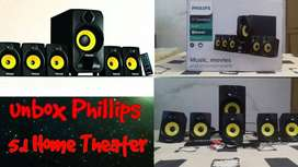 Philips SPA3800B/94 28 W Portable Bluetooth Home Theatre 5.1:WITH BILL