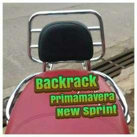 Backrack Modern Vespa Primavera Dan New Sprint.