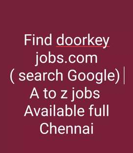 Wanted fresher male diploma candidates in vadapalani