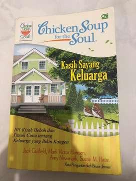 "Buku Chicken Soup for the Soul ""Kasih Sayang Keluarga"""