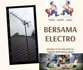 Menerima pemasangan sinyal antena tv luar
