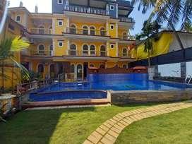 21 rooms for rent in calangute Beach goa