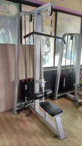 Gym Machine. Lat Pull Down