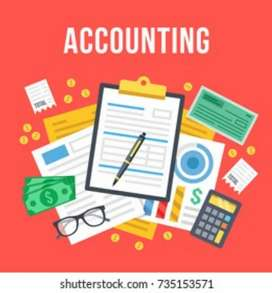 Accountant vacancies in Ltd companies b com freshers also can apply