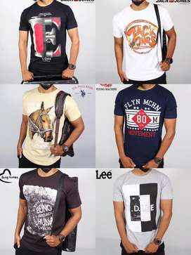 Mixed combo branded t shirt Offer - buy 2 for 400