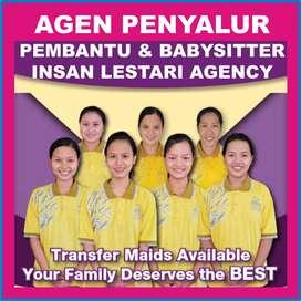 Ready PRT/Pembantu, BabySitter, OB, Driver, Serabutan, dll
