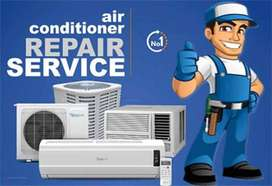 REQUIRED TECHNICIAN AND HELPERS FOR AC WORKING