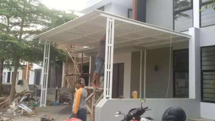 Rumah kanopi karpot minimalis