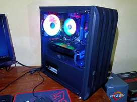 PC RAKITAN Ryzen 5 1400 (RAM 8Gb DDR4 | VGA RX 570 4GB GDDR5)