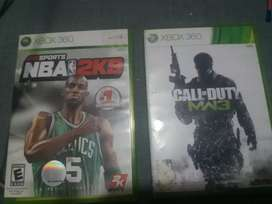 Call od duty madern warfare 3 and NBA2k9 only rs 2000