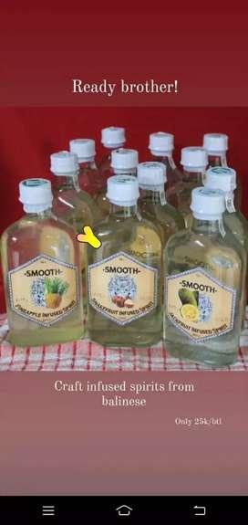 Mojito/ Cocktail / infused dari buah alami rasa (nanas, nangka, salak)
