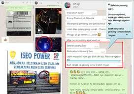 Agar ACCU Mobil AWET bisa  nih dipasang ISEO POWER,Bisa IRIT BBM jg