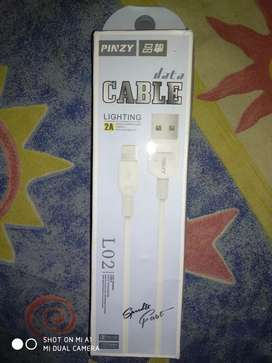 KABEL CHARGER IPHONE 2A FAST CHARGING