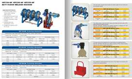 HDPE Electrofusion and Butt Fusion Welding Machines, UPP Pipe Welding