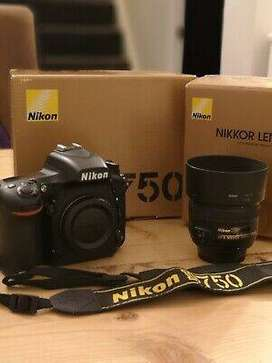 Nikon camera d750 with full accessories for sale