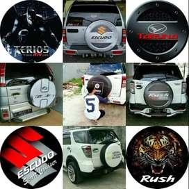 Toyota Rush/Terios/Panther/CRV/brio Cover/Sarung Ban serep penyayang#H