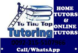 Get Online Tutor/Home Tutor for AQA/Edexcel/OCR(GCSE/IGCSE/O/A Levels)