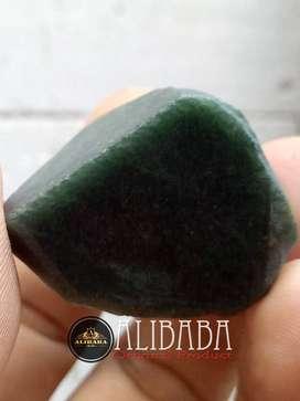 Giok Burma Hijau Tua Natural Green Jadeite Jade Type A