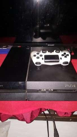 PS4 FAT SECOND 500GB (BLACK)