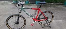 Sepeda bianchi like new bukan roadbike or road bike